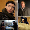 The Girl With the Dragon Tattoo Movie Pictures of Daniel Craig and Rooney Mara