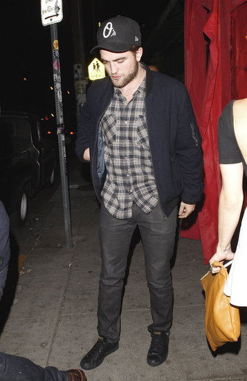 Robert Pattinson Has a Late Night in LA With a New Lady