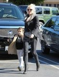Gwen Stefani and Kingston shopping in LA.