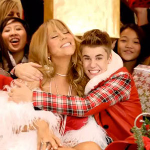 "Justin Bieber ""All I Want For Christmas Is You"" Video"