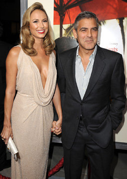 Clooney Dates Stacy Keibler