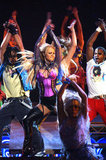 """Britney Spears danced to """"Me Against the Music"""" at the 2003 American Music Awards."""