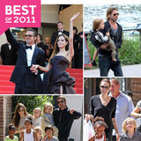 The Best Jolie-Pitt Pictures From Their Globe-Trotting 2011