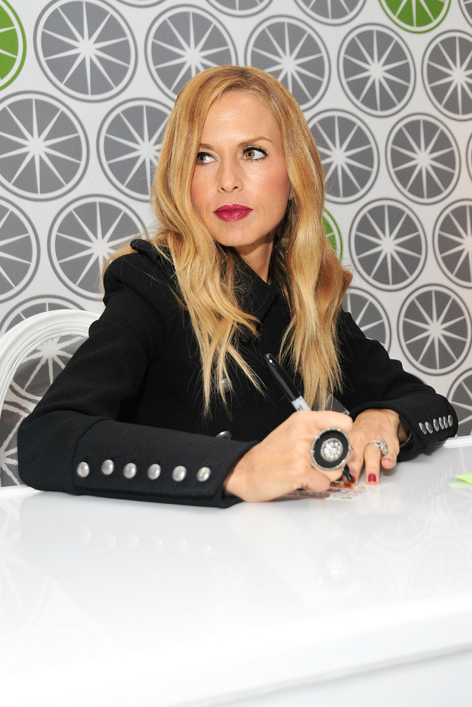 Rachel Zoe surveyed the scene.