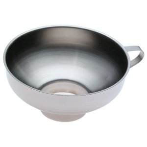 Norpro Stainless Steel Wide-Mouth Funnel