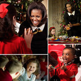 Michelle Obama Hosts a Holiday Soirée For Military Families