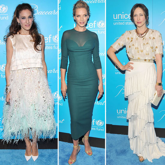 All the Stylish Snaps from UNICEF's Snowflake Ball