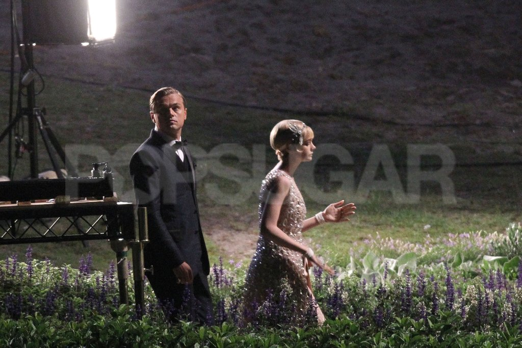 Carey Mulligan and Leonardo DiCaprio ventured out into a field in Sydney.