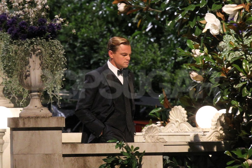 Leonardo DiCaprio was in Sydney to film The Great Gatsby.