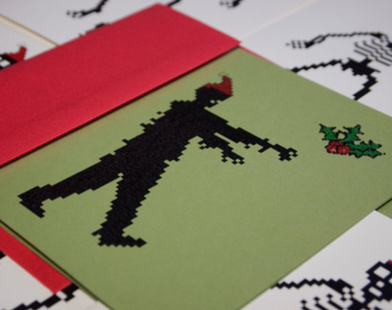 Christmas Card Zombie 