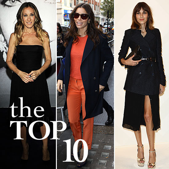 Fab's Top 10 Celebrity Looks of the Week — SJP, Alexa, Jessica Biel, and More!