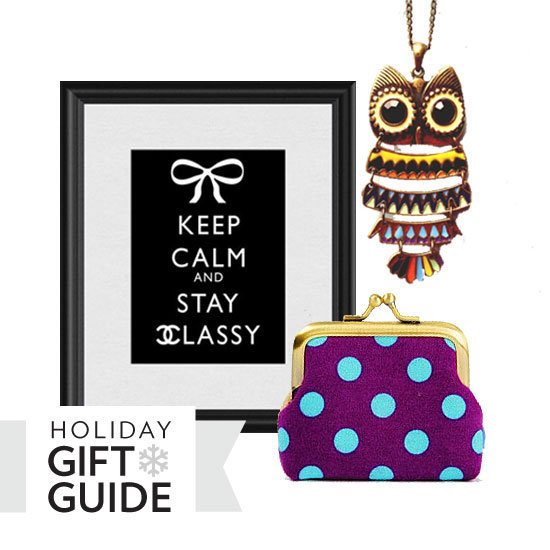 We've rounded up some pretty cool and super unique gift finds from Etsy — click through our gift guide now.