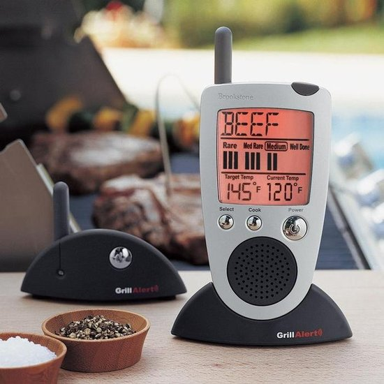 Grill Alert Talking Thermometer ($70)