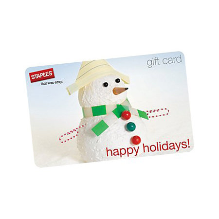 Gift Card For School Supplies