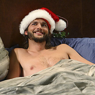 Ashton Kutcher Shirtless on Two and a Half Men