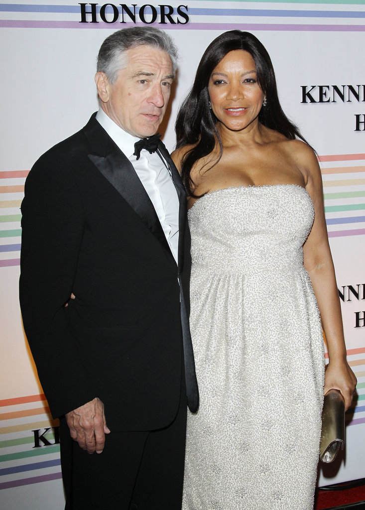 Robert De Niro and Grace Hightower arrived in DC to celebrate the Kennedy Center Honors.