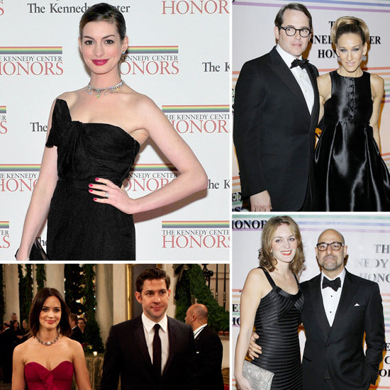 Anne Hathaway, SJP, and the Blunts Celebrate Meryl Streep and the Kennedy Center Honorees