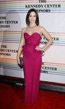 Emily Blunt wore a bright pink dress to the Kennedy Center Honors.