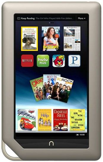 Nook Tablet ($250)