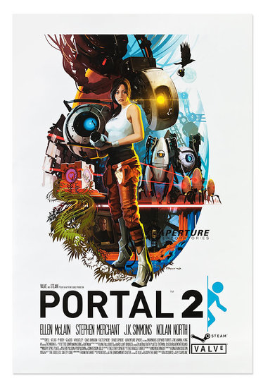 Portal 2 Posters ($40)
