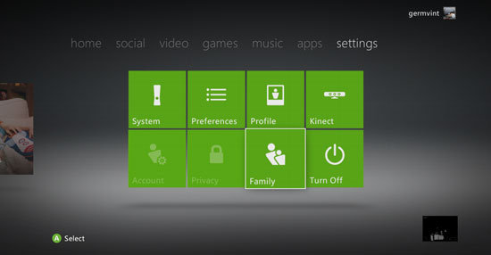 Xbox Live Updated Dashboard Pictures