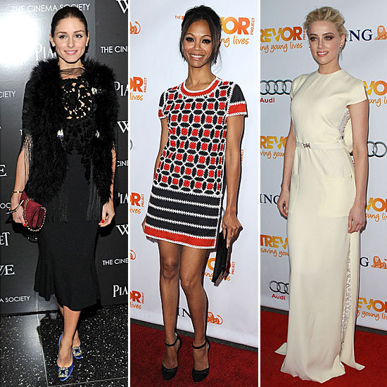 Celebrity Red-Carpet Looks Dec. 5, 2011