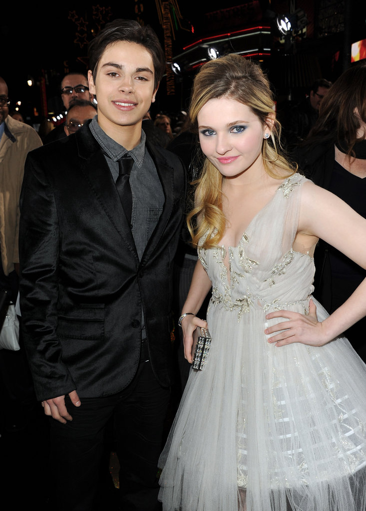 Jake T. Austin and Abigail Breslin