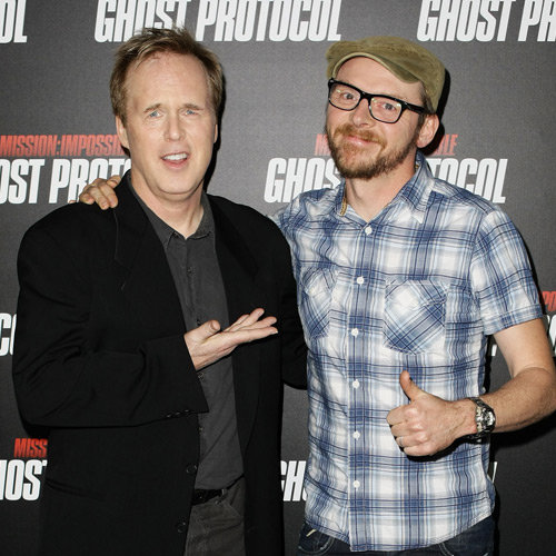 Mission: Impossible Ghost Protocol Fan Screening in Sydney with Simon Pegg and Director Brad Bird