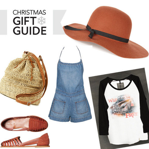 Top Ten Christmas Present Ideas for the Music Festival Goer: Shop our Festival Fasion Filled Gift Guide