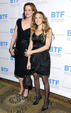 Sarah Jessica Parker and Sigourney Weaver posed together at the Brain Trauma Foundation Gala.