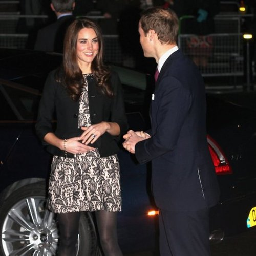 Kate Middleton Prince William Pictures at Gary Barlow Concert