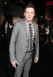 Cory Monteith was among many Glee stars in attendance at the premiere of New Year's Eve.