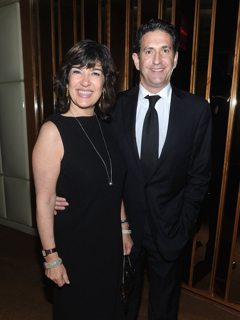 Christiane Amanpour and James Rubin attend the afterparty for In the Land of Blood and Honey.