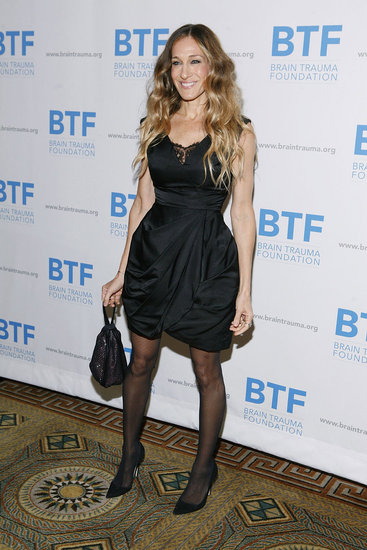 Sarah Jessica Parker wore Manolo Blahnik shoes.