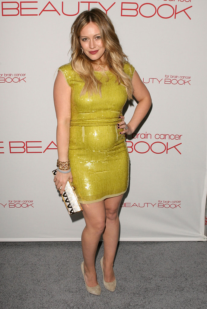 Hilary Duff's Neon Number