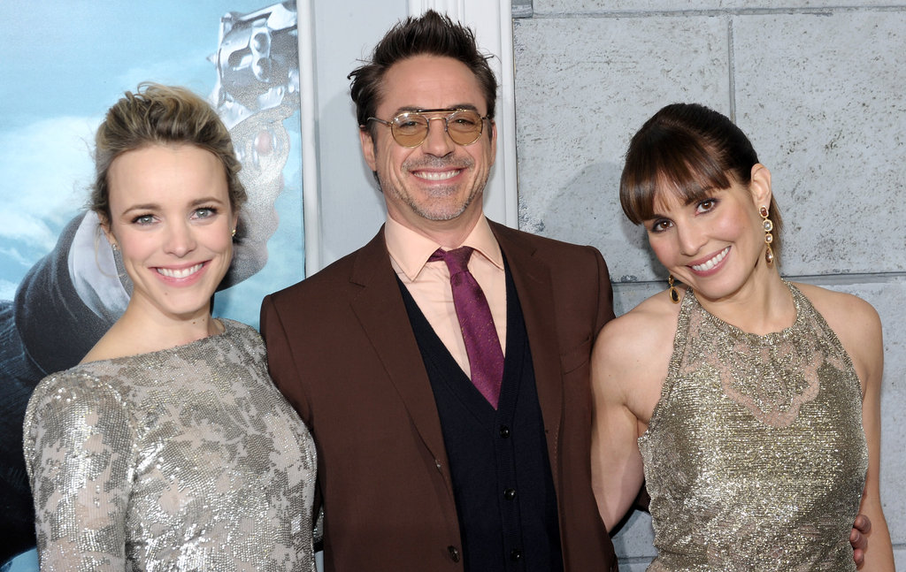 Rachel McAdams, Robert Downey Jr., and Noomi Rapace shared the spotlight in LA.