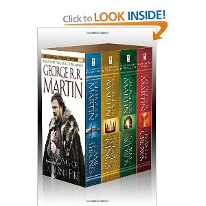 George R. R. Martin&#039;s A Game of Thrones 4-Book Boxed Set ($20)
