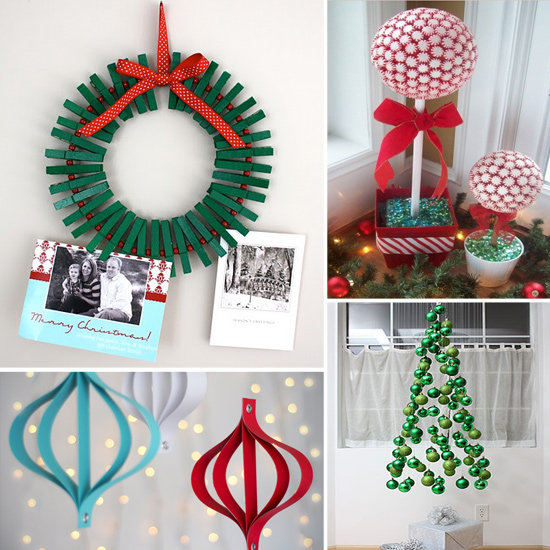 Diy christmas decorations kids will love popsugar moms for Homemade xmas decorations