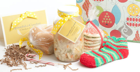 Spoonful of Comfort Chicken Soup and Gift Basket Offer