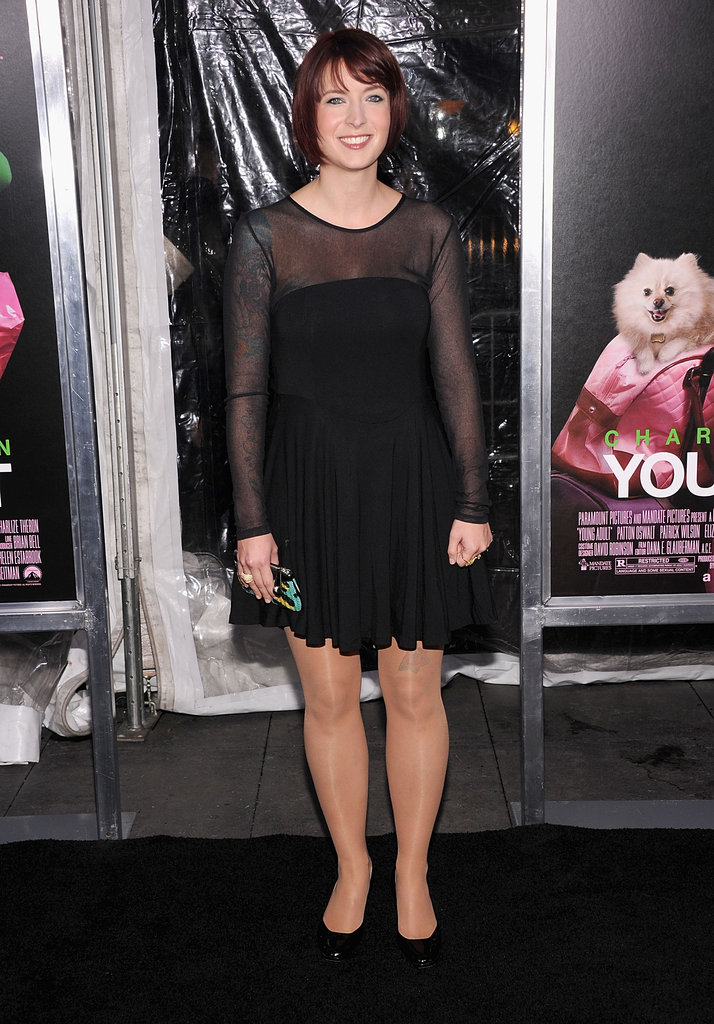 Diablo Cody looked pretty in her LBD.