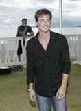 Ian Somerhalder was on hand for ABC's August 2004 Lost on the white, sandy beach of Honolulu.