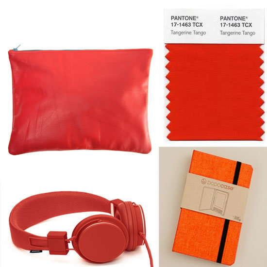 Inspired Gear in Pantone's 2012 Color of the Year: Tangerine Tango