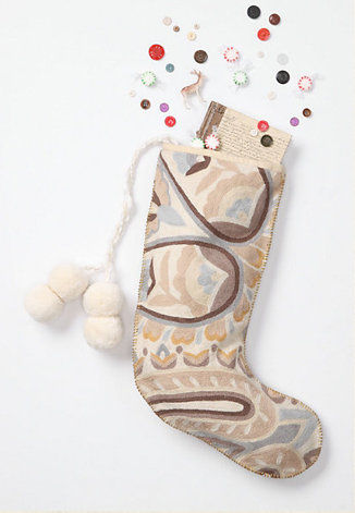 Crewel Paisley Stocking ($58)