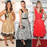 Pictures of Miranda Kerr, Jessica Alba and Taylor Swift in Ladylike Dresses: Steal Their Retro Style for the Party Season!
