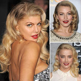 Who Had the Best Retro Hair and Red Lipstick Combination?