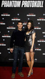 Paula Patton and Tom Cruise were in Germany for another premiere.
