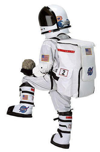 Astronaut four piece costume ($160)