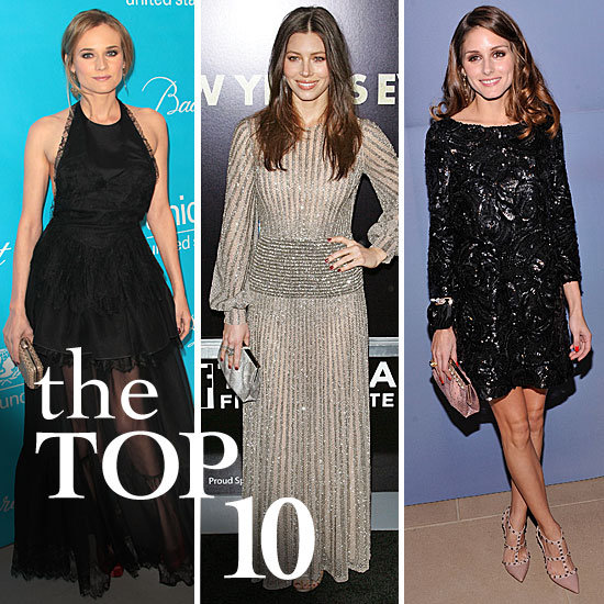 Fab's Top 10 Celebrity Looks of the Week — Diane, Olivia, Jessica, and More!