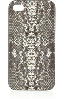 Marc Jacobs Python-Print iPhone Case ($40)