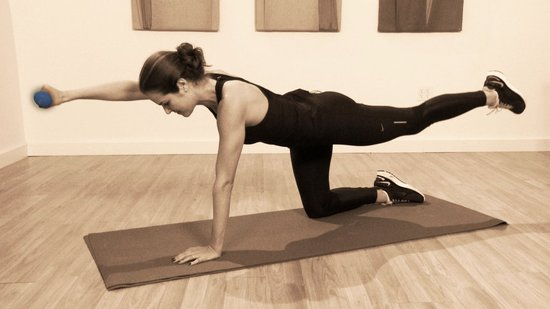 Work Your Abs Without Crunches: Quadruped